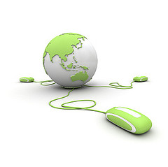 Green global communication